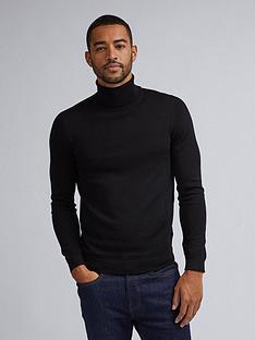 burton-menswear-london-burton-merino-roll-neck-jumper