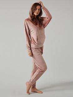 boux-avenue-velour-batwing-hooded-pj-top-dusky-pink
