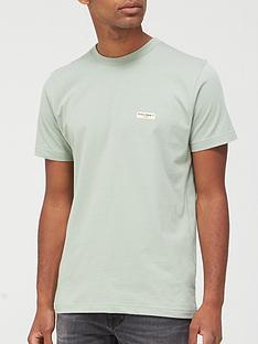 nudie-jeans-daniel-logo-t-shirt-grey