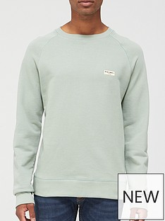 nudie-jeans-samuel-logo-sweatshirtnbsp--grey