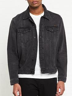 nudie-jeans-slim-fit-denimnbspjacket-black