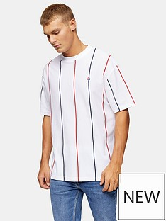 topman-striped-t-shirt-white