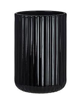 premier-housewares-ticino-brittany-black-glass-tumbler