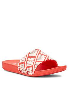 ugg-logo-beach-sliders-coral