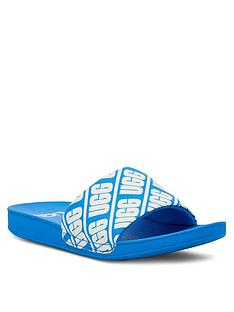 ugg-logo-beach-sliders-blue