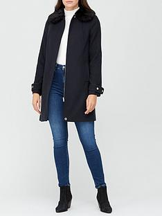 v-by-very-zip-faux-fur-collar-coat-navy