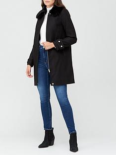 v-by-very-zip-coat-with-faux-fur-collar-black