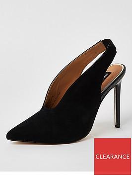 river-island-river-island-suede-slingback-court-shoe-black