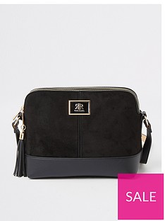 river-island-double-compartment-cross-body-bag-black