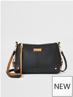 river-island-western-side-tab-cross-body-bag-black
