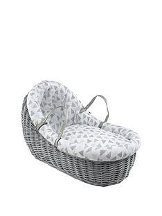 clair-de-lune-sparkling-muslin-willow-bassinet