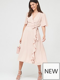v-by-very-vienna-wrap-frill-midi-dress-blush
