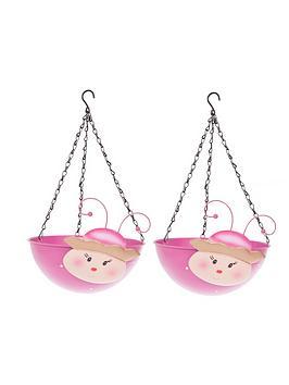 pair-of-wobblehead-princess-hanging-baskets