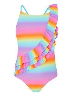 accessorize-girls-ombre-frill-swimsuit-multi
