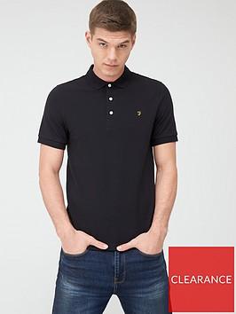 farah-blanes-pique-polo-shirt-black