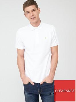 farah-blanes-pique-polo-shirt-white