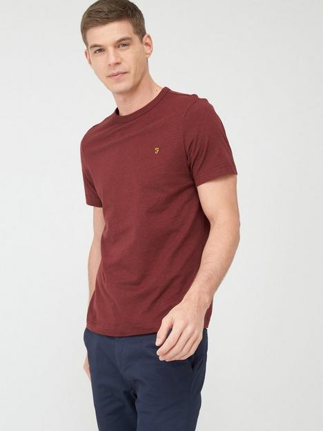 farah-danny-t-shirt-red-marl