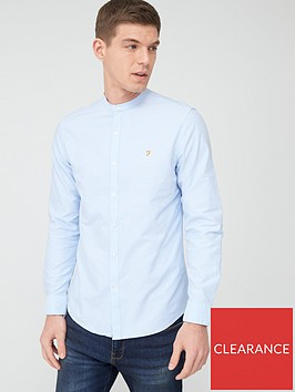farah-grandad-oxford-shirt-sky-blue