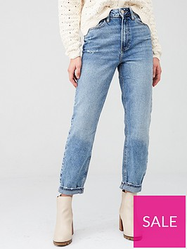 river-island-high-rise-washed-mom-jeansnbsp--mid-wash