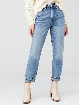 river-island-river-island-high-rise-washed-mom-jean--mid-wash