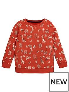 v-by-very-boys-jungle-print-sweatshirt-orange