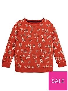 v-by-very-boys-jungle-print-sweatshirt-orange