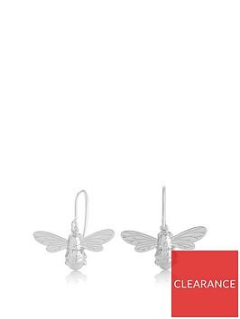 olivia-burton-lucky-bee-sleepers-silver