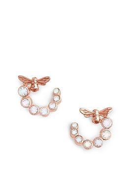 olivia-burton-olivia-burton-bejewelled-lucky-bee-swirl-hoop-earrings-rose-gold