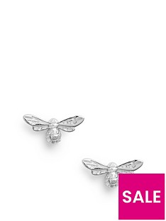olivia-burton-olivia-burton-lucky-bee-stud-earrings-silver