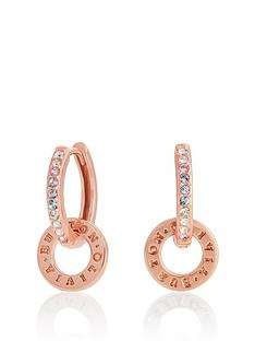 olivia-burton-olivia-burton-rainbow-interlink-huggie-hoops-rose-gold
