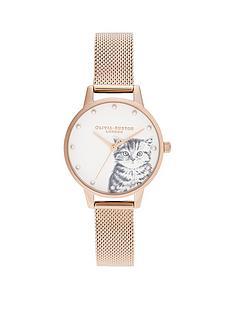 olivia-burton-olivia-burton-pearly-kitten-rose-gold-mesh-watch