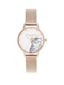 olivia-burton-olivia-burton-pearly-kitten-rose-gold-mesh-watch