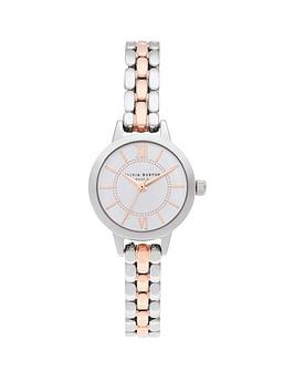 olivia-burton-silver-and-rose-gold-watch