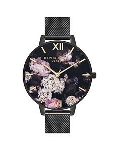 olivia-burton-ip-black-mesh-watch