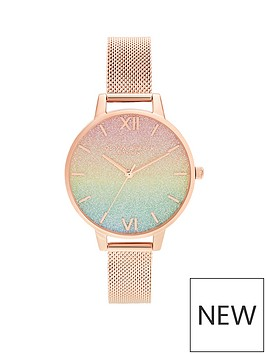 olivia-burton-olivia-burton-rainbow-glitter-dial-and-rose-gold-mesh-watch