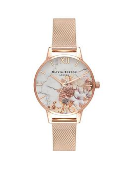 olivia-burton-rose-gold-mesh-watch
