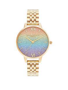 olivia-burton-olivia-burton-rainbow-giltter-dial-gold-bracelet-watch