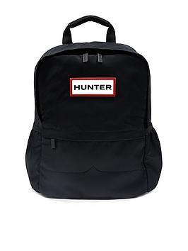 hunter-nylon-backpack--nbspblack