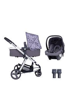 cosatto-giggle-lite-2-in-1-pram-pushchair-car-seat-amp-adaptor-bundle