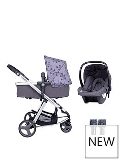 cosatto-giggle-lite-2-in-1-pram-pushchair-car-seat-amp-adaptor-bundle