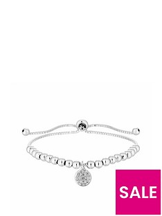 simply-silver-simply-silver-pave-disc-charm-beaded-toggle