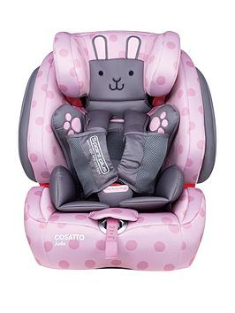 Cosatto Judo Group 1/2/3 Isofix Car Seat - Bunny Buddy