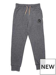 diesel-boys-logo-cuffed-jogger-grey