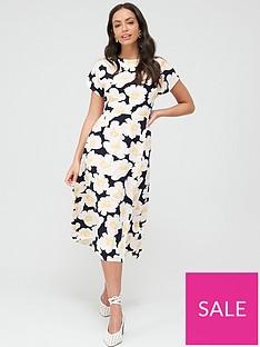 warehouse-nicky-floral-midi-dress-multi