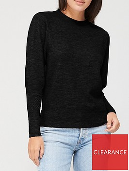 v-by-very-batwing-crew-neck-jumper-black