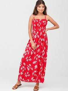 pour-moi-removable-straps-maxi-dress-redpink