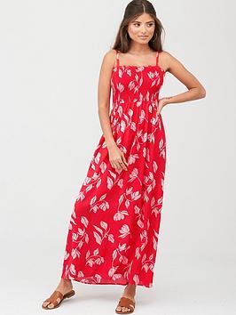 pour-moi-removable-straps-maxi-dress-redpink