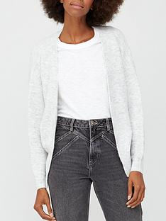 v-by-very-edge-to-edge-relaxed-rib-short-cardi-light-grey-marl