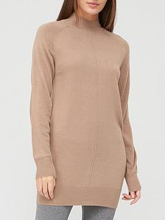 v-by-very-super-soft-front-seam-detail-longline-jumper-taupe