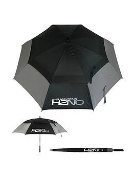 sun-mountain-h2no-dual-canopy-windproof-large-golf-umbrella-68-172cm-auto-opening-fibreglass-frame-uv-protection-greyblack